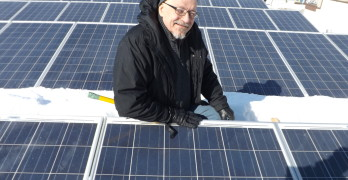 Solar Power Gives Local Businessman a Charge